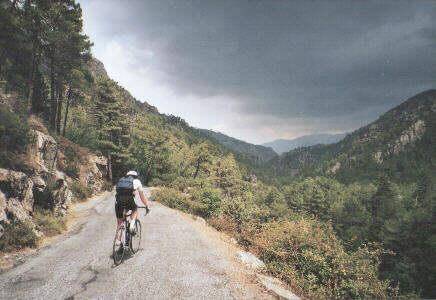 Via Zwitserland naar Corsica reisverslag